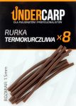 Undercarp Rurka termokurczliwa brown 1 mm
