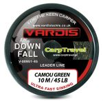 Vardis Tacke Downfall Leader - leadcore bez rdzenia 45lb/10m Camou Brown