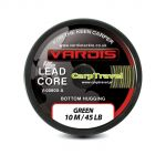 Vardis Tackle Lead Core 45lb/10m Green