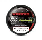 Vardis Tackle Lead Core 45lb/10m 16-splotów CAMOU GREEN