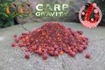 PVA Crushed Mix 1kg Bloodworm/Caviar CarpGravity