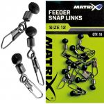 Łącznik Matrix Feeder Bead Snap Links - 12