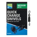 Preston Łączniki z gumką Quick Change Swivels