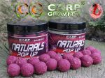 Carp Gravity Pop Up BS NATURALS Bloodworm/Caviar 18mm 200ml - Nowość